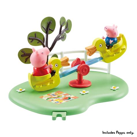 peppa pig swing set welcome to character online co uk peppa pig outdoor fun