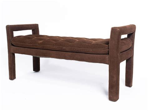 long upholstered bench long upholstered tufted bench for sale at 1stdibs