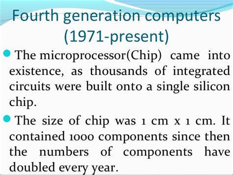 history of the integrated circuits an integrated circuit holds thousands of 28 images information technology ppt ppt cse 301