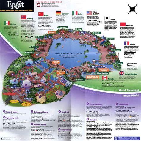 google themes disney epcot map google search disney pinterest epcot