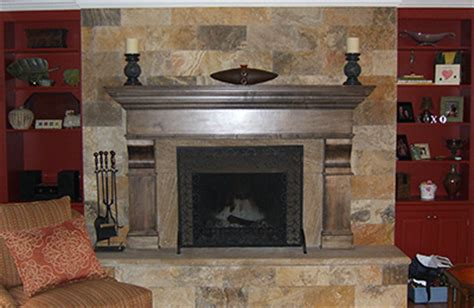 new faces on existing fireplaces tn coopertown