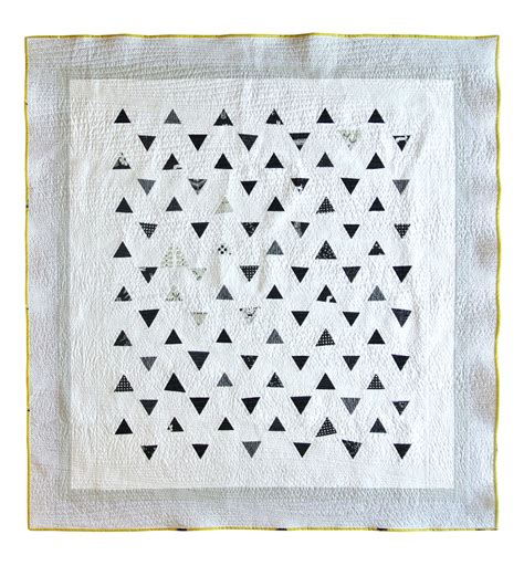 Minimal Triangles Quilt Pattern Download Suzy Quilts Triangulations Template Quilt Pattern