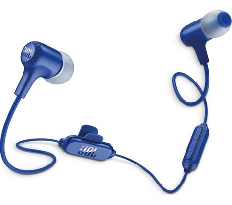 Headset Jbl E25bt buy jbl e25bt wireless bluetooth headphones blue free delivery currys