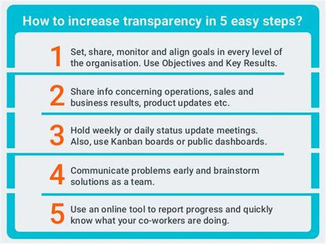 how to improve workflow 10 reasons why you need more transparency at work