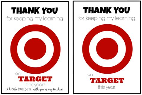 Can I Use A Target Gift Card On Amazon - teacher appreciation gift idea target gift card teacher appreciation printable
