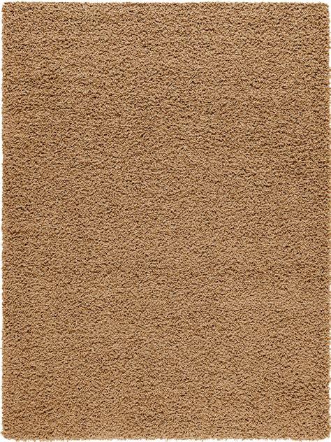 Bettvorleger Teppich by Benuta Hochflor Teppich Swirls Hellbraun 60001044 Uni