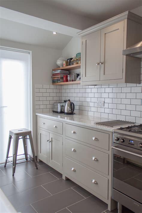 metro cabinet and flooring putty coloured units retro metro white tiles white
