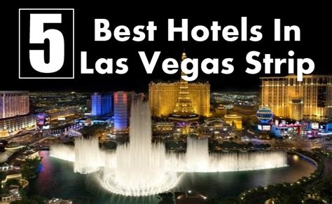 the five best non casino hotels in las vegas hopper blog 5 best hotels in las vegas strip travel me guide