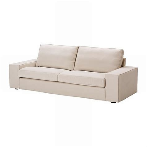 3 seat sofa slipcovers ikea kivik 3 seat sofa slipcover cover ingebo light beige