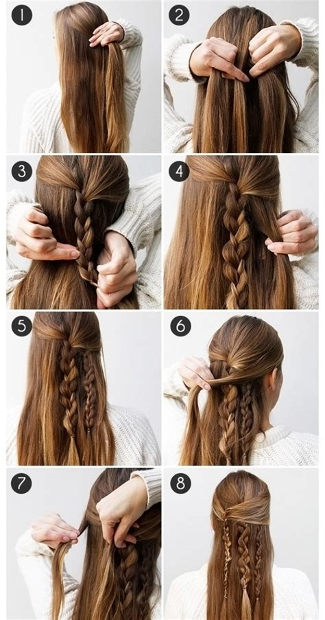 Fast Hairstyles For Hair by Easy Hairstyles For And Medium Hair Hairstyles