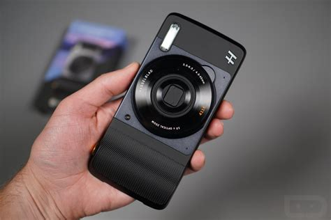 video hasselblad true zoom moto mod   droid life