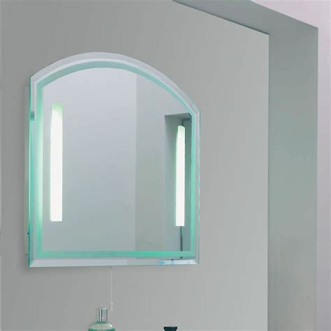 bathroom mirror with light endon el nordic enluce ip44 2 light bathroom mirror