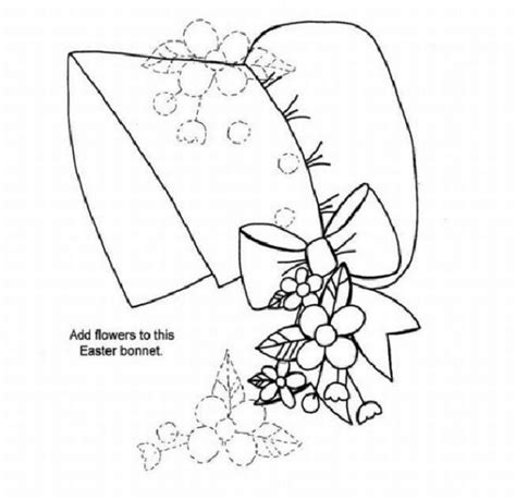 coloring pages easter bonnet easter colouring easter bonnet colouring picture