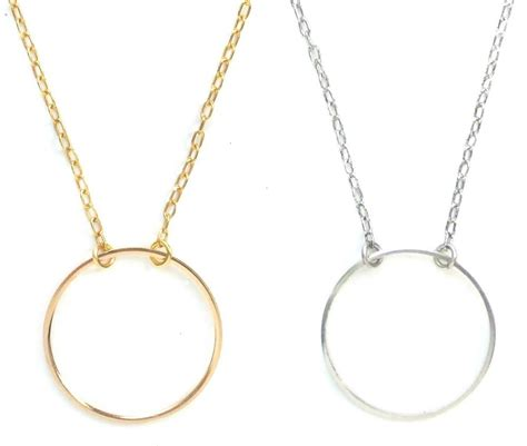 wind maximal infinity ring charm holder necklace