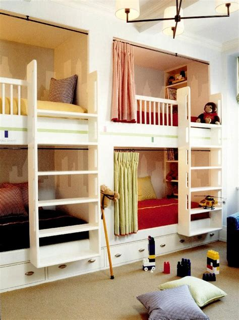 bunk beds for 4 paperwhite the perfect built in bunk bed