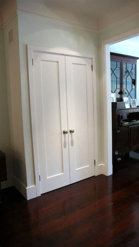 doors instead of bifold for the home
