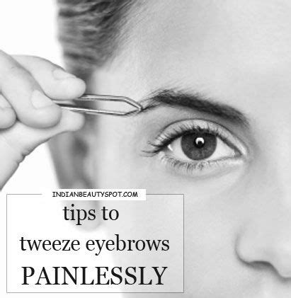 12 Tips On How To Pluck Your Eyebrows by 25 Best Ideas About Tweezing Eyebrows On How
