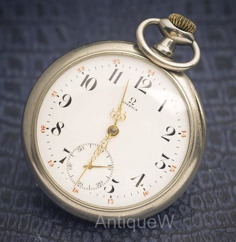 antique 1918 gentelman pocket by omega omega