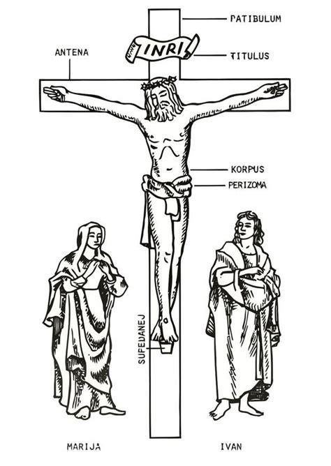 imagenes viernes santo para colorear dibujo para colorear viernes santo img 21730