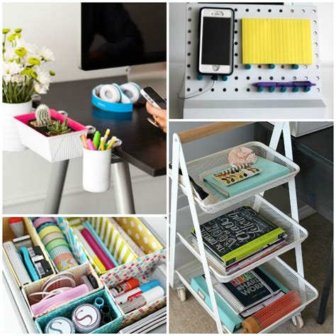 Work Desk Organization Ideas Office Desk Organizer Ideas Pink Stinx Home Organization Center 20 Creative Home Office