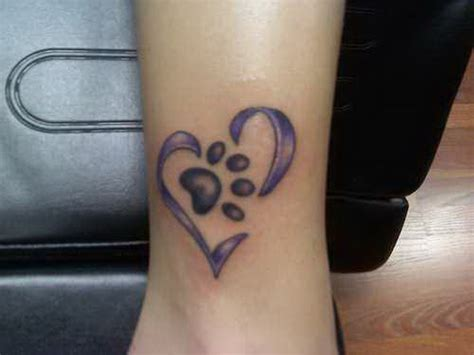 paw print heart tattoo designs ankle paw print 5358879 171 top tattoos ideas