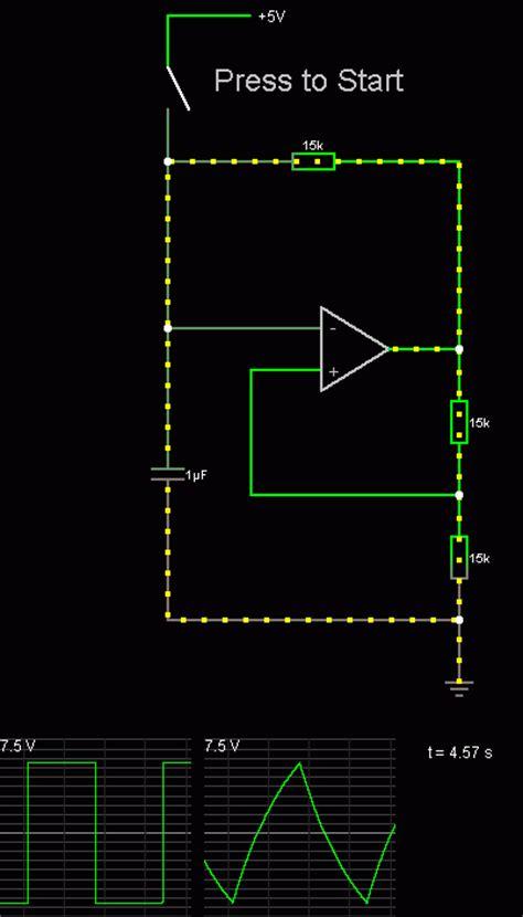 simulated inductor oscillator op oscillator