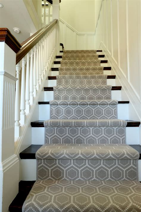 modern stair runners staircase traditional with animal - Modern Stair Runners