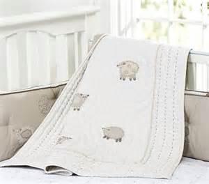 Pottery Barn Crib Skirt Sweet Lambie Nursery Organic Bedding For Babies