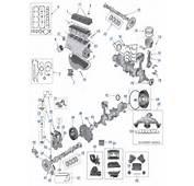YJ Wrangler 25L 4 Cylinder Engine Parts  Wheel