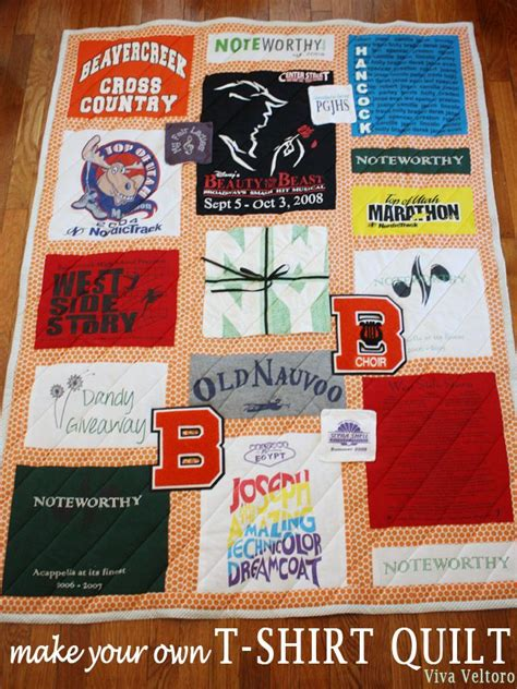 make a t shirt quilt out of your t shirts diy t