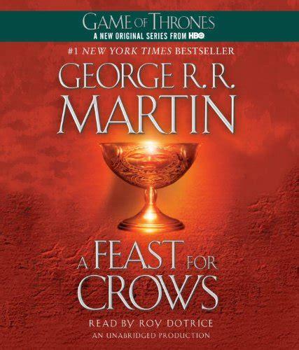 libro a feast for crows di george r r martin