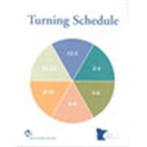 printable turning schedule clock item detail