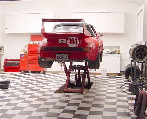 Small Garage Car Lift by Choosing A Lift For Home Garage Rennlist Porsche