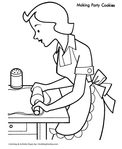 christmas party coloring pages making kids christmas