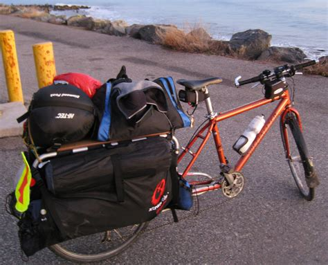 One Car Garage touring with a longtail cargo bicycle milestone rides