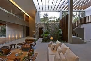 home design inside outside brazil house with luxe garden and outside living layout decor advisor