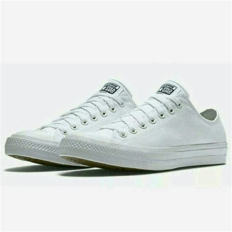 Sepatu Wanita Converse Lunarlon Low 2 converse chuck 2 ii white low top w lunarlon from s closet on poshmark