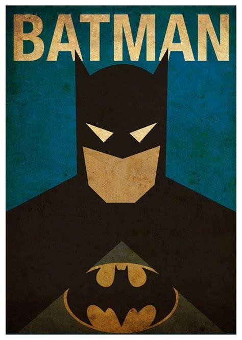 Poster Print Foto A3 vintage minimalist batman poster a3 prints by mygeekposters flashpoint justice league
