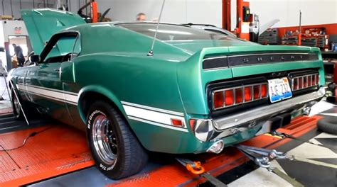1969 mustang shelby gt500 427 fe on the dyno cars