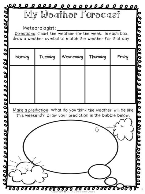 weather patterns worksheet pdf weather unit weekend weather weather forecast and weather