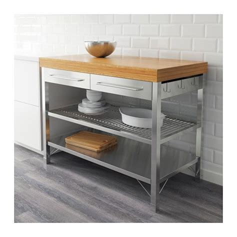 rolling kitchen island ikea rimforsa work bench ikea kitchen island breakfast bar pinterest rolling kitchen island