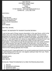 Application Letter Of Secretary Sample Cover Letter For Teaching Job With No Experience