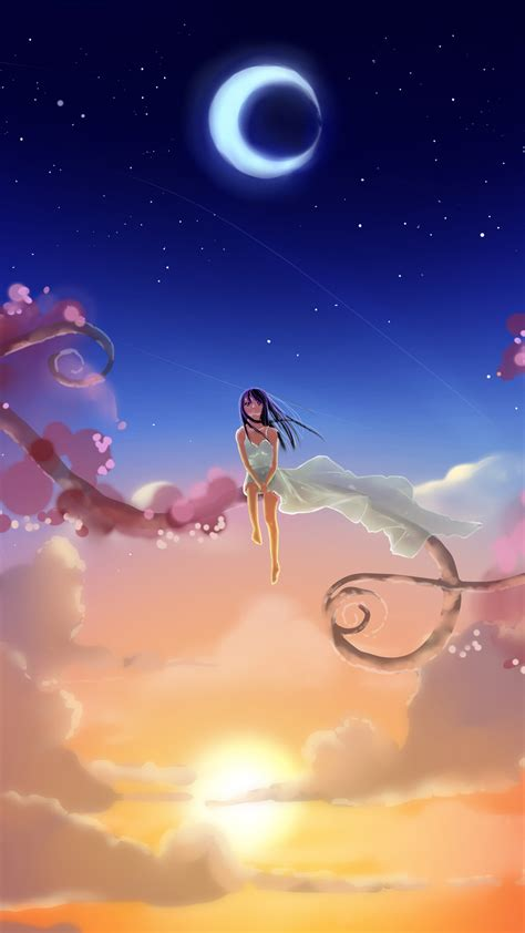 download anime wallpaper hd iphone fantasy sky iphone wallpaper hd