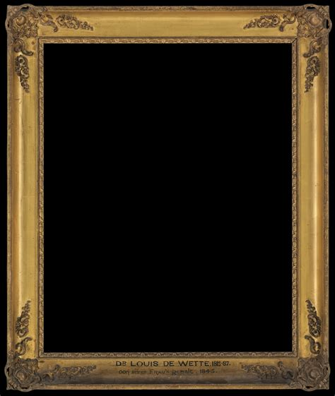 framing a picture file louis ludwig de wette frame only wellcome