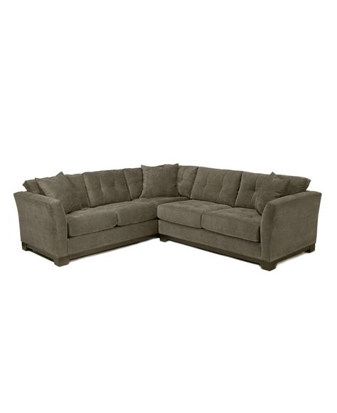 Elliot Microfiber Sectional by Shops Other And Tvs On
