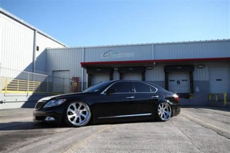 widebody lexus ls buy used 2007 lexus ls460 widebody modular accuair