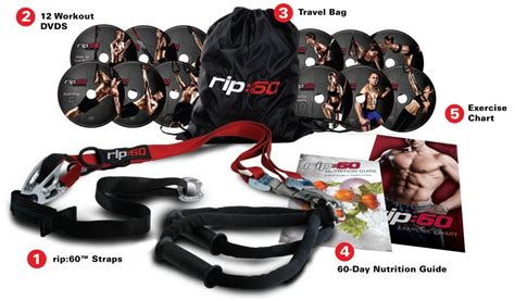 rip 60 fitness dvd suspension trainer set product