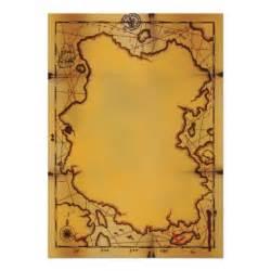 Treasure Map Template by Pirate Treasure Map Invitations 5 Quot X 7 Quot Invitation Card