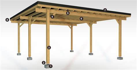 Comment Construire Un Carport Plan by Plan Pour Fabriquer Un Carport En Bois