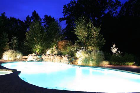 landscape lighting bergen county nj design installation contractors